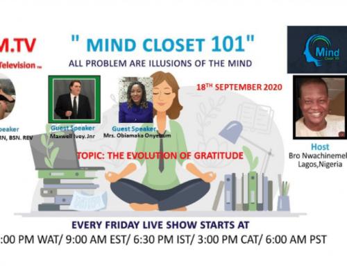 MIND CLOSET 101   9/18/2020